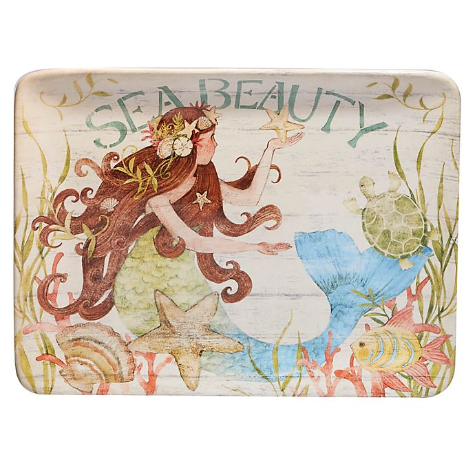 Alternate image 1 for Certified International Sea Beauty by Susan Winget Rectangular Platter