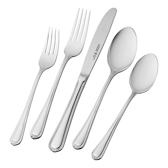 Alternate image 1 for J.A. Henckels International Alcea 65-Piece Flatware Set