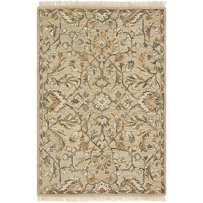 Alternate image 1 for Magnolia Home by Joanna Gaines Hanover 3-Foot 6-Inch x 5-Foot 6-Inch Area Rug in Neutral