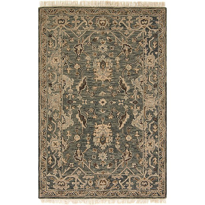 Alternate image 1 for Magnolia Home by Joanna Gaines Hanover 3-Foot 6-Inch x 5-Foot 6-Inch Area Rug in Slate
