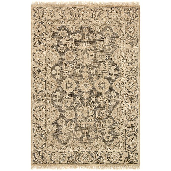 Alternate image 1 for Magnolia Home by Joanna Gaines Hanover 3-Foot 6-Inch x 5-Foot 6-Inch Area Rug in Granite