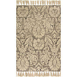 Magnolia Home by Joanna Gaines Jozie Day 2-Foot 3-Inch x 3-Foot 9-Inch Accent Rug in Silver