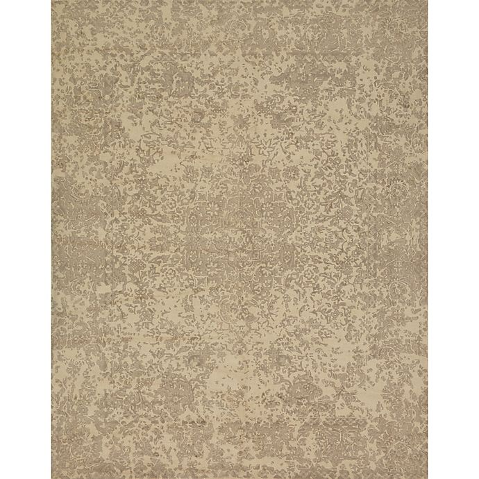Alternate image 1 for Magnolia Home By Joanna Gaines Lily Park 2-Foot 6-Inch x 7-Foot 6-Inch Runner in Ivory
