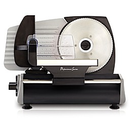 Professional Series® 7.5-Inch Deli Meat Slicer in Stainless Steel/Black