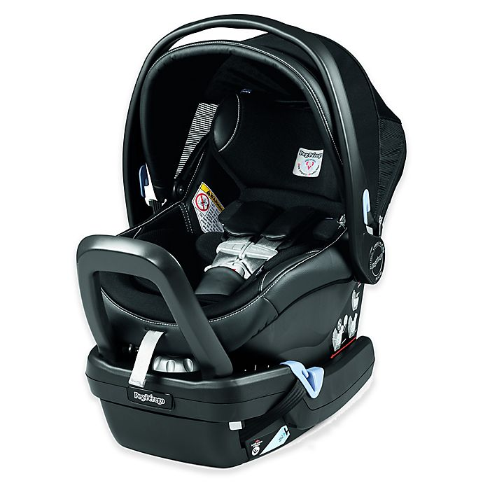 Alternate image 1 for Peg Perego Primo Viaggio 4-35 Nido Infant Car Seat in Leather Licorice