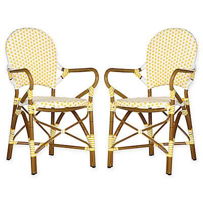 Safavieh Hooper Indoor/Outdoor Armchairs (Set of 2)