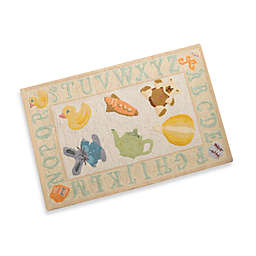Momeni Lil Mo Yellow Storytime Accent Rug