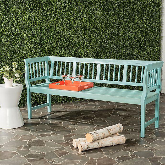 Safavieh Brentwood Outdoor Bench Bed Bath Amp Beyond