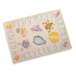 Momeni Lil Mo Storytime 2-Foot x 3-Foot Accent Rug in Soft Pink