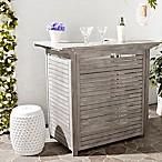 Safavieh Monterey Bar Table in Grey Wash