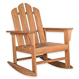 Safavieh Moreno Rocking Chair in Teak Brown