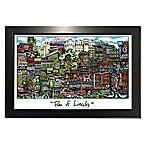 Pubs of Lincoln, Nebraska  Lithograph Wall Art