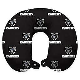 NFL Las Vegas Raiders Polyester U-Shaped Neck Travel Pillow