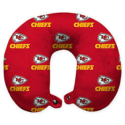 NFL Kansas City Chiefs Polyester U-Shaped Neck Travel Pillow