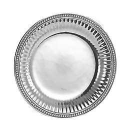 Wilton Armetale® Flutes and Pearls 13-1/2-Inch Round Tray