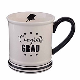 Formations 16 oz. Graduation Mug in White/Black