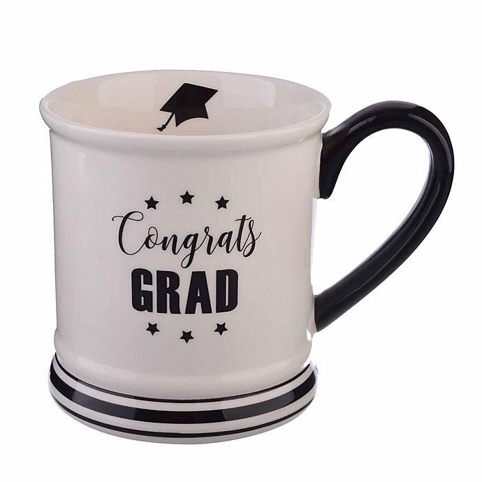 Alternate image 1 for Formations 16 oz. Graduation Mug in White/Black