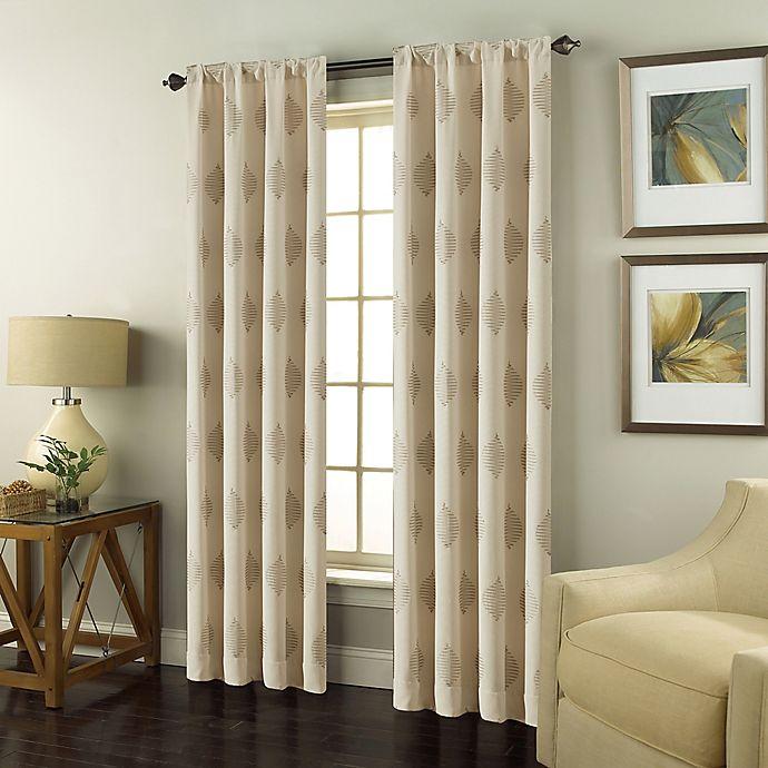 Alternate image 1 for Scranton Rod Pocket Window Curtain Panel