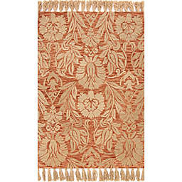 Magnolia Home by Joanna Gaines Jozie Day 2-Foot 3-Inch x 3-Foot 9-Inch Accent Rug in Persimmon