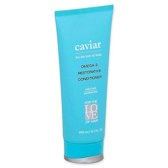 Alternate image 1 for For the Love of Hair Omega-3 Restorative Caviar 6.7 fl. oz. Conditioner