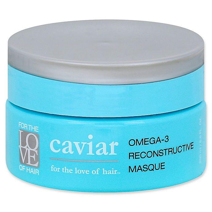 Alternate image 1 for For the Love of Hair Omega-3 Restorative Caviar 6.8 fl. oz. Masque