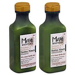 Maui Moisture Thicken & Restore + Bamboo Fibers Collection for Weak, Brittle Hair