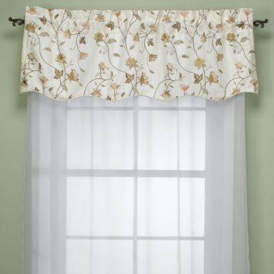 Rio Valance In Ivory Bed Bath Amp Beyond