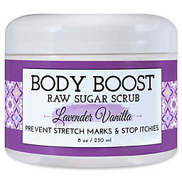 basq 8 oz. Body Boost Raw Sugar Scrub in Lavender Vanilla