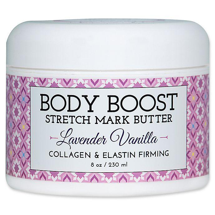 Alternate image 1 for basq 8 oz. Body Boost Stretch Mark Butter in lavender Vanilla