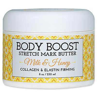 basq 8 oz. Body Boost Stretch Mark Butter in Milk and Honey