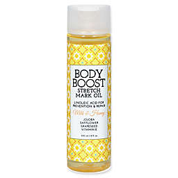 basq 8 oz. Body Boost Stretch Mark Oil in Milk and Honey