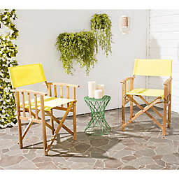 Safavieh Laguna Outdoor Director Chairs (Set of 2)