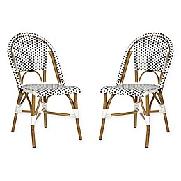 Safavieh Salcha Indoor/Outdoor Stackable Side Chair (Set of 2)