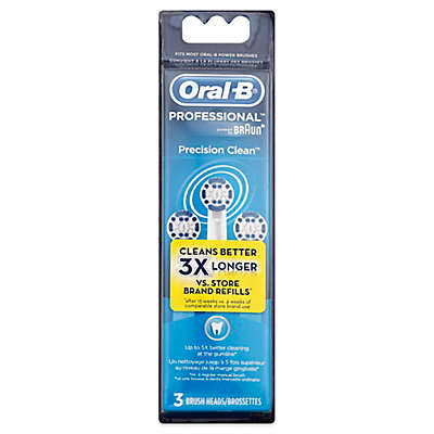 Oral-B® Replacement Brush Heads (3-Pack)