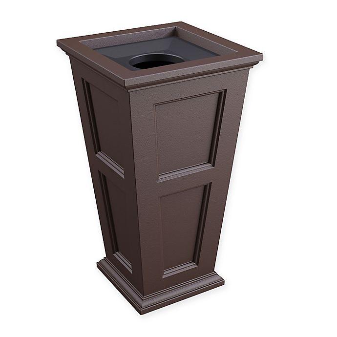 Alternate image 1 for Mayne® Fairfield 17.5-Gallon Tall Waste Bin in Espresso