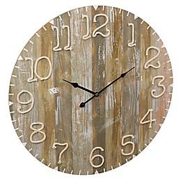 Grasslands Road Twine Number Wall Clock