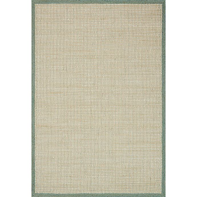 Alternate image 1 for Magnolia Home by Joanna Gaines Sydney 7-Foot 9-Inch x 9-Foot 9-Inch Area Rug in Aqua