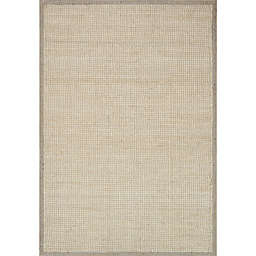 Magnolia Home by Joanna Gaines Sydney Rug in Light Grey