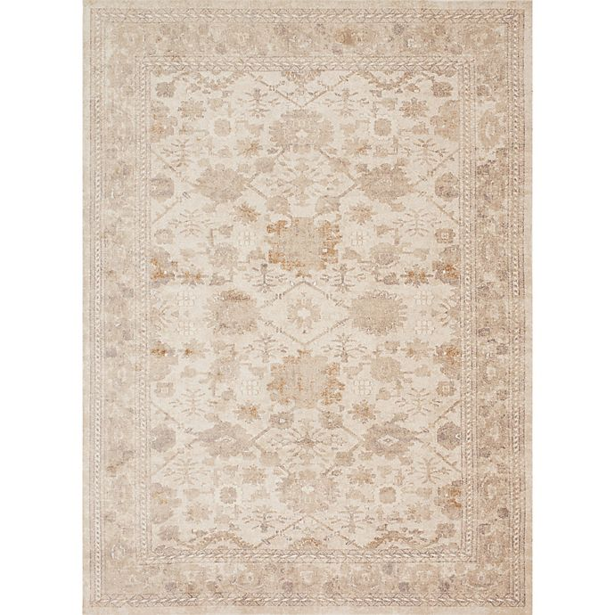 Alternate image 1 for Magnolia Home by Joanna Gaines Trinity 2-Foot 8-Inch x 10-Foot 6-Inch Runner in Antique Ivory