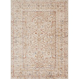 Magnolia Home by Joanna Gaines Trinity Border Rug in Sand