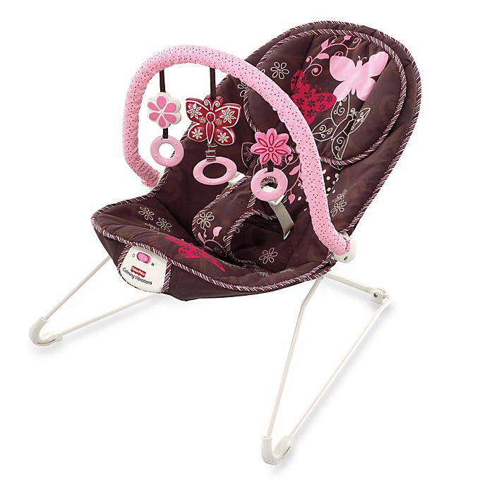 Alternate image 1 for Fisher-Price® Mocha Butterfly Bouncer