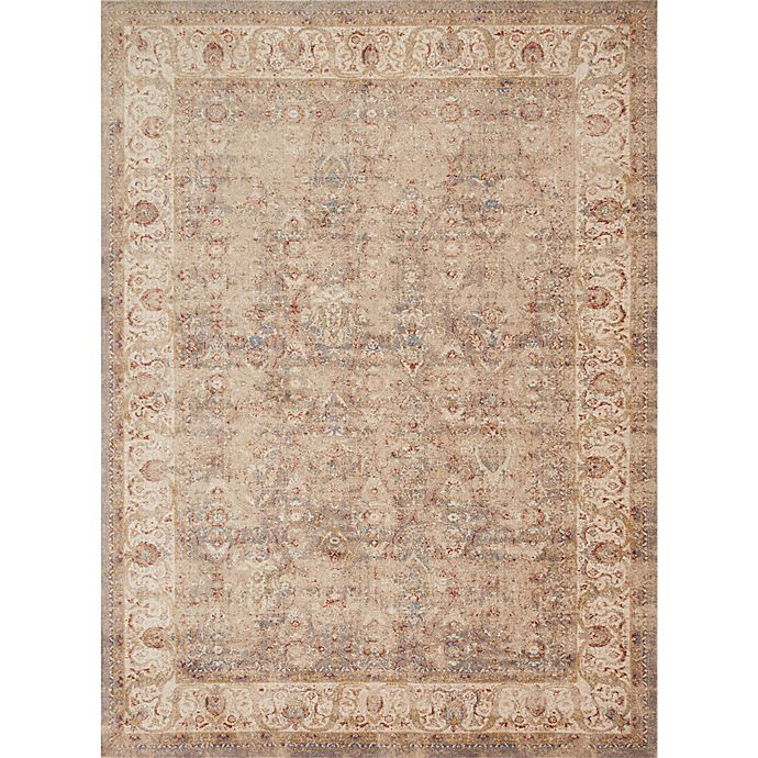 Alternate image 1 for Magnolia Home by Joanna Gaines Trinity Vines 7-Foot 10-Inch x10-Foot 10-Inch Area Rug in Sand/Ivory