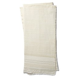 Magnolia Home by Joanna Gaines Alissa Throw Blanket in Ivory/Beige