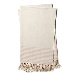 Magnolia Home by Joanna Gaines Oaks Throw Blanket in Pink