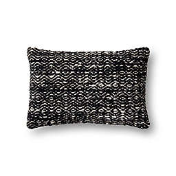 Magnolia Home by Joanna Gaines Sosa Oblong Throw Pillow in Black