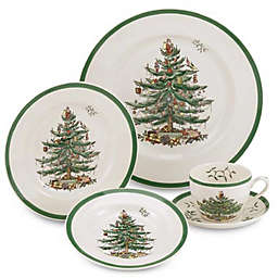 Spode® Christmas Tree 5-Piece Place Setting