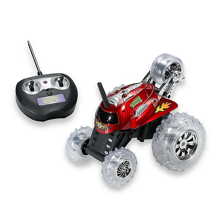 Alternate image 1 for Thunder Tumbler® Radio Controlled Car in Red