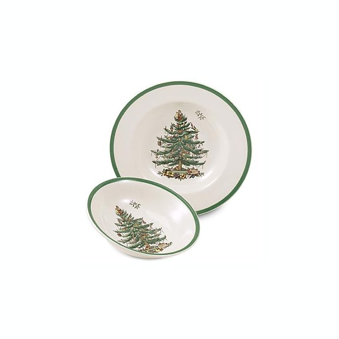 Alternate image 1 for Spode® Christmas Tree Cereal Bowl