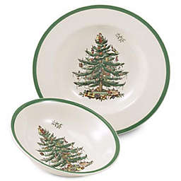 Spode® Christmas Tree Rim Soup Bowl