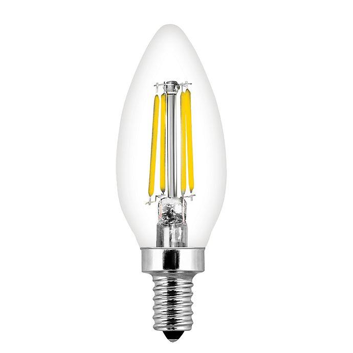 Alternate image 1 for Feit Electric 2-Pack 40-Watt Decorative Chandelier LED Light Bulbs